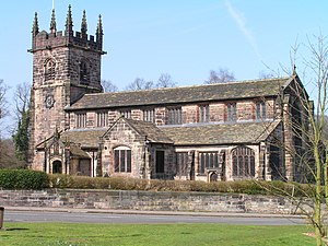 Wilmslow church Cheshire