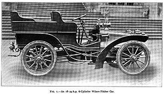 Wilson-Pilcher - A 1904 Wilson-Pilcher Car