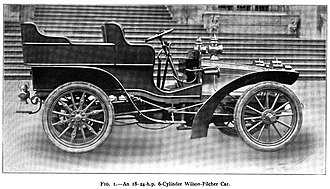 Walter Gordon Wilson - A 1904 Wilson-Pilcher Car