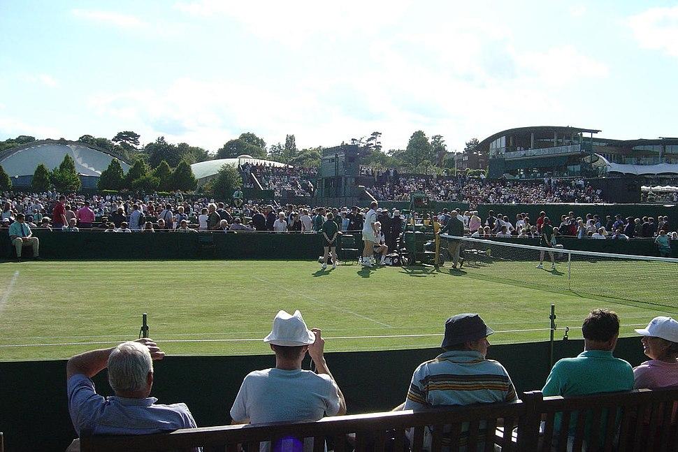 Wimbledon Court 10 2004 RJL