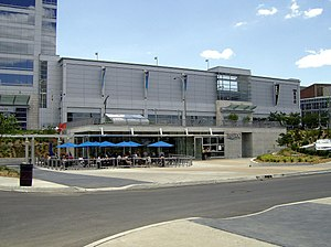 """Riverfront Bike Trail - """"The Bistro at the River"""" opened in summer 2007."""