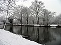 Wintry Reflections, Kennet and Avon Canal - geograph.org.uk - 333389.jpg