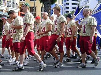 Down Under Bowl - Wisconsin team at Down Under Bowl 2005