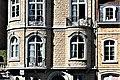 Woluwe-Saint-Lambert - Region Bruxelloise - Fenstertür und Fenster mit Eisengitter - P1010384.jpg