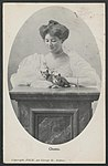 Woman and cats, 1906 (8285812461).jpg