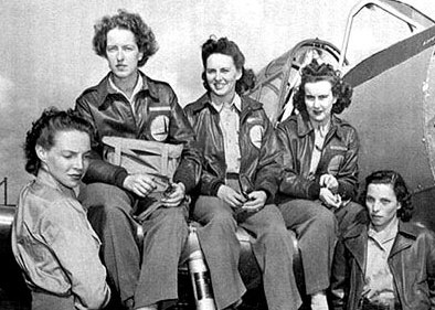 Women's Auxiliary Ferrying Squadron pilots, March 7, 1943