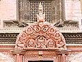 Wooden Tympanum at Entrance of Kumari House- Basantapur, Kathmandu Nepal-0115-2.jpg