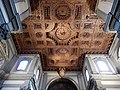 Wooden ceiling of the Badia Fiorentina, Florence, Italy.jpg
