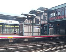 The Woodside LIRR station