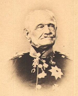 Friedrich Graf von Wrangel - Photo of Friedrich von Wrangel, 1877
