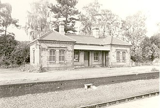 Wrexham General railway station - Wrexham Exchange station building