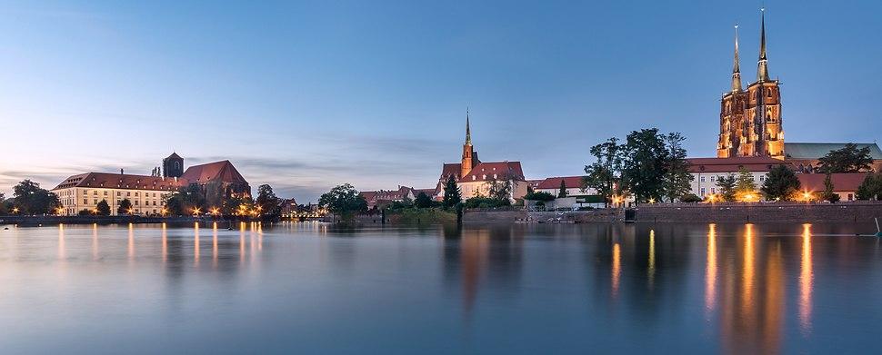 Wroclaw - Ostrow Tumski