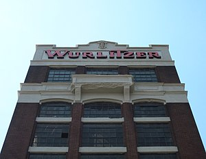 Theatre organ - The offices of the Wurlitzer factory in New York, previously known as the North Tonawanda Barrel Organ Factory.