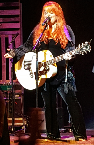 Wynonna Judd - Wynonna Judd in July 2016 performing with her band The Big Noise