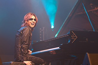 Yoshiki (musician) - Yoshiki performing at Japan Expo in 2010.