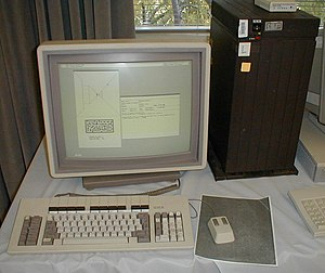 Workstation - Early Xerox workstation