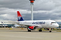 YU-APD - A319 - AirSERBIA