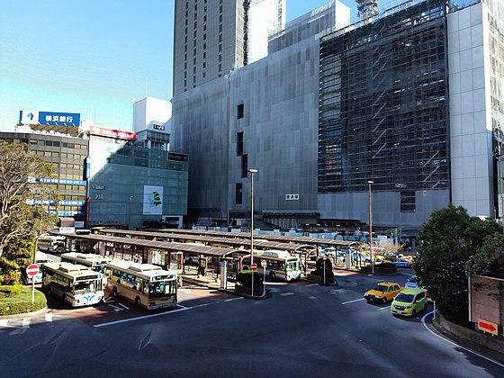 c29b6b28b1080 建設中のJR横浜タワー(2018年11月23日)