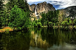 Yosemite Falls with reflection 2.jpg