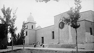Ysleta Mission - Image: Ysleta Mission Northwest Side May 25 1936