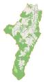Zagórz (gmina) location map.png