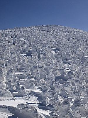 "Zaō Onsen - ""Snow monsters"" on Mount Zaō"