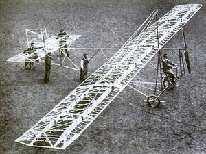 Human-powered aircraft - Zaschka's Human-Power Aircraft, Berlin 1934