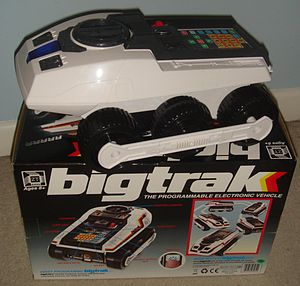 Big Trak - Zeon 2010 Bigtrak – no stickers affixed.