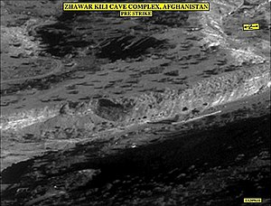 Battles of Zhawar - The Zhawar caves in 2002.