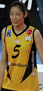 Zhu Ting (volleyball) Female Chinese volleyball player