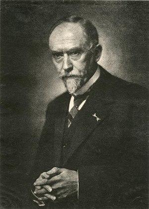 Gustaaf Adolf Frederik Molengraaff - Gustaaf Molengraaff  (photo by Franz Ziegler)