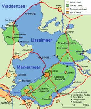 Niederlande Ijsselmeer Karte.Ijsselmeer Wikipedia
