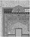 """Bahram Gur in the Yellow Palace on Sunday"", Folio 213 from a Khamsa (Quintet) of Nizami MET 187673.jpg"