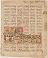 """Iranian and Turanian Armies in Combat"", Folio from a Shahnama (Book of Kings) MET DP215906.jpg"