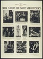 """WORK CLOTHES FOR SAFEY & EFFICIENCY"" - NARA - 516184.tif"