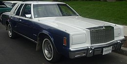 Una Chrysler New Yorker del 1980