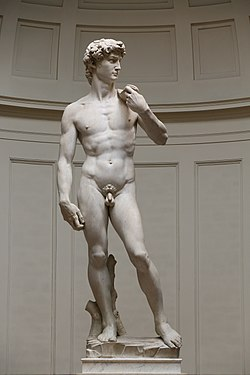 'David' by Michelangelo Fir JBU005