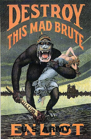 United States in World War I - World War I propaganda poster for enlistment in the US Army.
