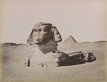 Sphinx Agung di Giza, Mesir