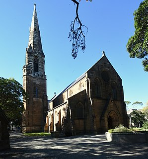 St Stephens Anglican Church, Newtown Church in New South Wales, Australia
