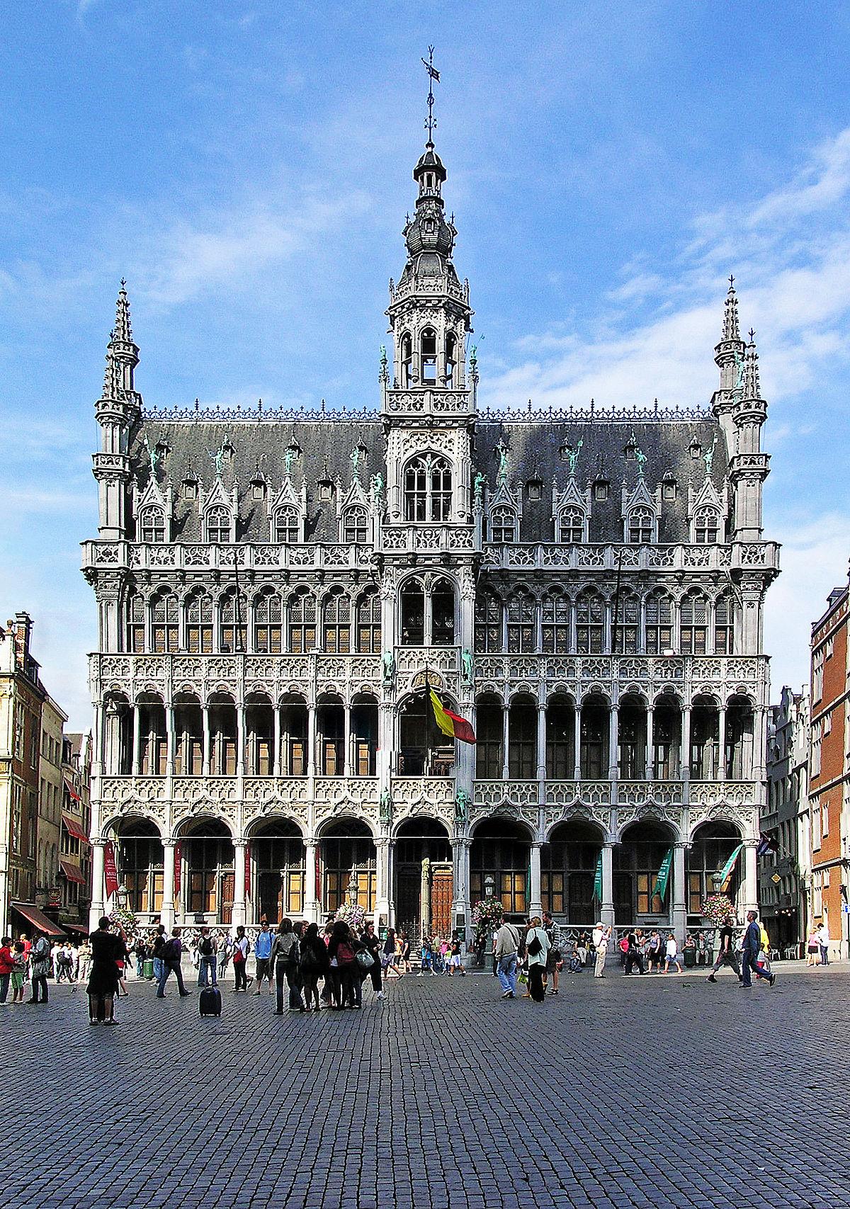 Maison du roi bruxelles wikip dia for Assurance gens de maison belgique