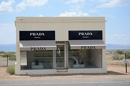 Prada Marfa (Elmgreen & Dragset)