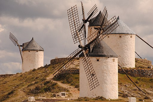 ^29 September NPC - Windmills of Don Quijote - La Mancha (Molinos de Consuegra - Toledo) - Spain - panoramio