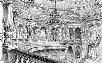 Éden-Théâtre - View of the auditorium