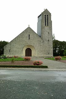 Saint-Sauveur-de-Pierrepont Commune in Normandy, France