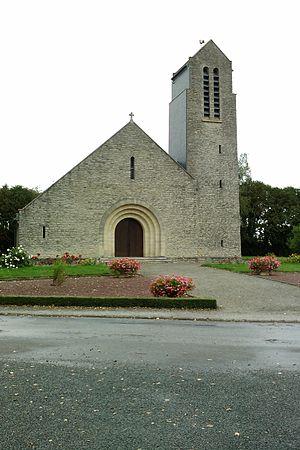Saint-Sauveur-de-Pierrepont - The church of Saint-Sauveur