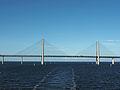 Öresundbrücke Pfeiler und Durchfahrt.JPG