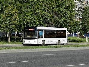 Naberezhnye Chelny - Image: Автобус МАЗ 206 в Набережных Челнах