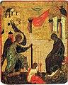 Благовещение Середина XVI века Московская школа.jpg