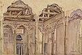 Богаевский К., «Внутренний вид Зеленой мечети в Бахчисарае», XX в.jpg